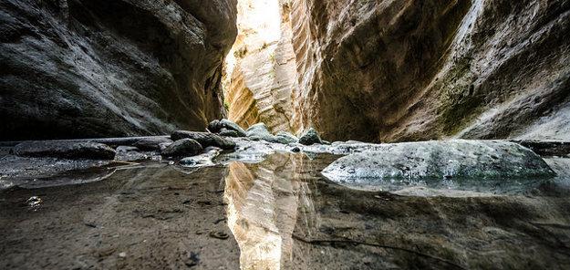 Roklina Avakas je obľúbené miesto vo vnútrozemí na juhozápade polostrova Akamas.