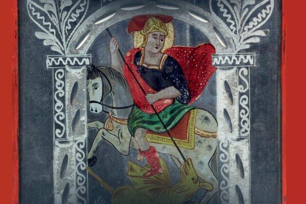 Svätý Juraj - obrázok zo zbierky Liptovského múzea.