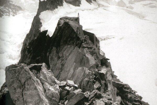 Observatórium na Mont Blancu vo výške 4808 m n. m.