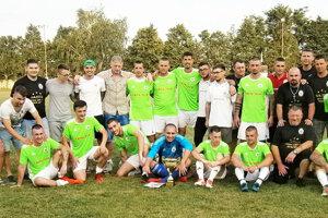 Futbalové mužstvo FC Jelka.