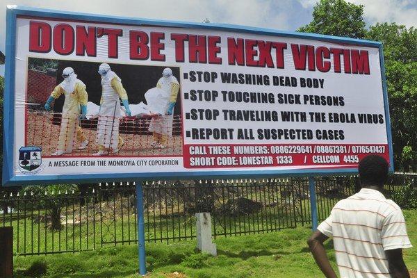 Proti nákaze bojujú v Libérii aj kampaňou.