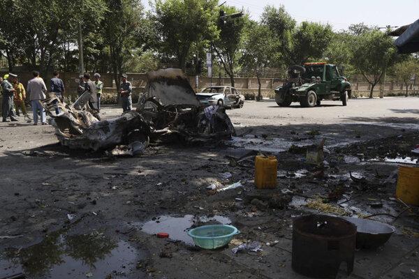 Výbuch v Kábule usmrtil najmenej osem ľudí