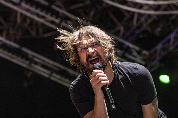 Dan Bárta vystúpil s kapelou Illustratosphere vo štvrtok 18. júla.
