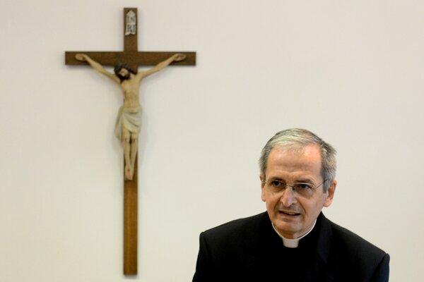 Predseda KBS, bratislavský arcibiskup metropolita Mons. Stanislav Zvolenský.