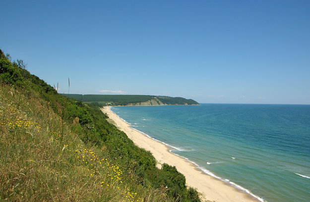 Irakli beach, Bulharsko.