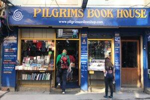 Najznámejšie kníhkupectvo v hlavnom meste Nepálu Pilgrims Book House