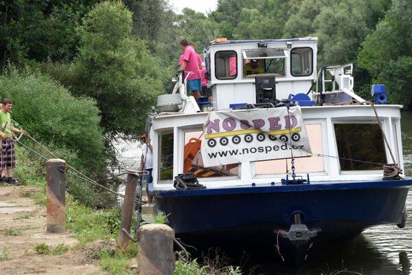 Výletná loď Bohemia absolvuje posledný úsek trasy z Prahy na Domašu v stredu a vo štvrtok.