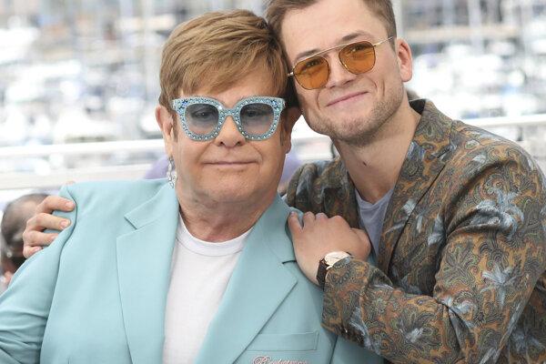 Elton John a Taron Egerton