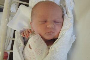 Viktória Klimová (4080 g, 52 cm) sa narodila 19. júla Daniele a Dominikovi zo Bziniec pod Javorinou.