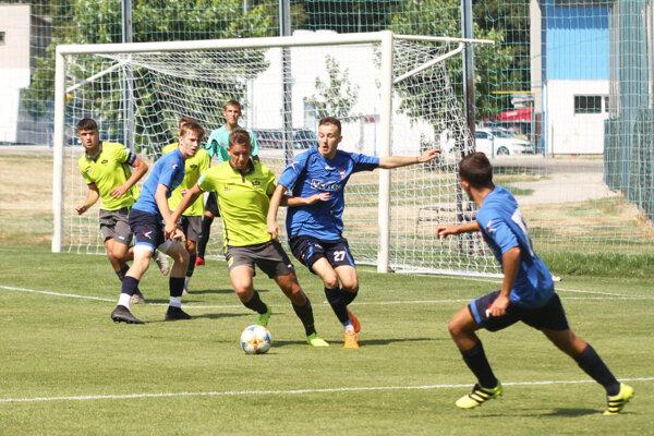 Nitrania viedli nad ViOnom už 3:0, zápas sa napokon skončil výsledkom 3:2.
