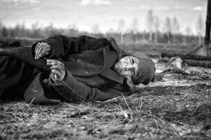 Petr Kotlár vo filme Pomaľované vtáča.