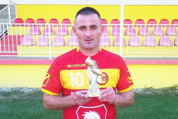 Ladislav Beneš má strelecký apetít aj v 38 rokoch.