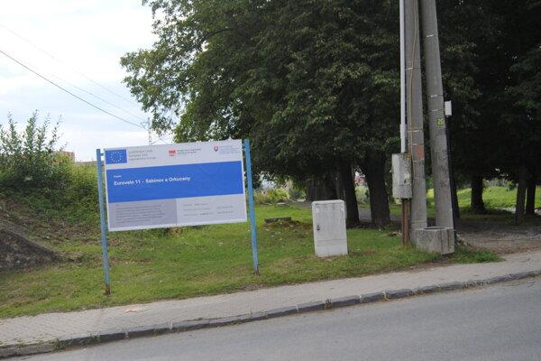 Eurovelo 11 v Sabinove.