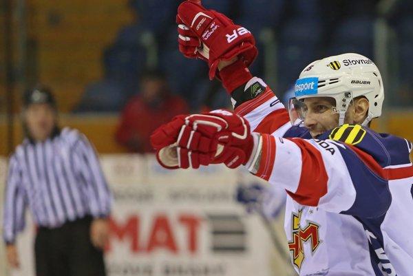 Doma vo Zvolene Lukáš Jurík opäť hokejovo ožil.