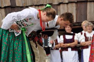 Po vystúpení na Podroháčskych folklórnych slávnostiach.