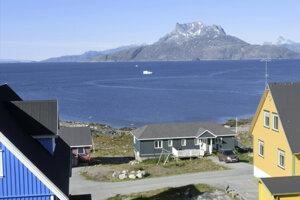 V Grónsku zaznamenali rekordné teploty.