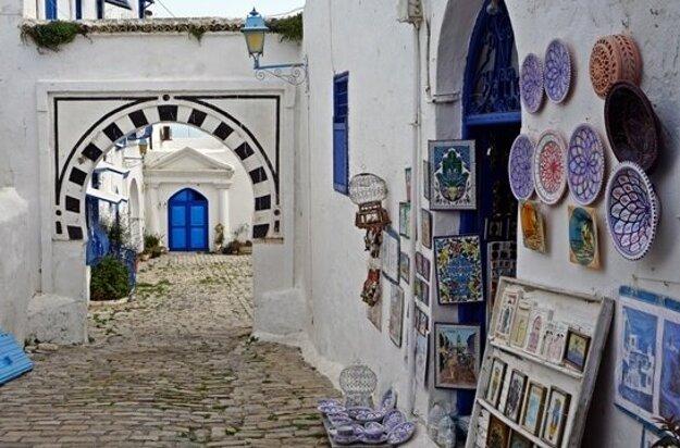 Umenie v tuniských uličkách.