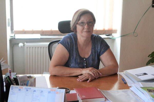 Mária Bednárová, primátorka Modrého Kameňa, požiadala inštitút o opravu.