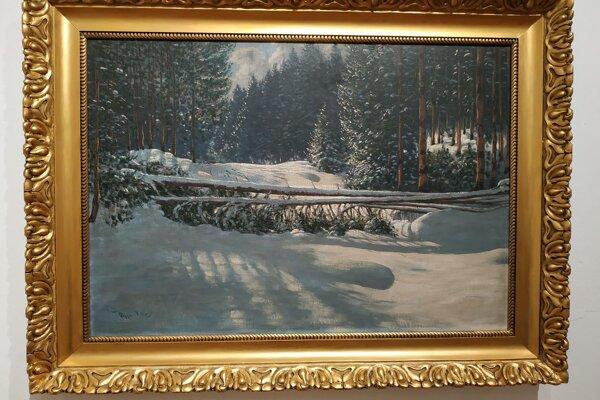 Ukážka z diel v Galérii umelcov Spiša.