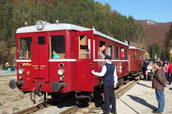 Cez víkend si môžete vychutnať jazdu historickým vlakom. Ilustračné foto.
