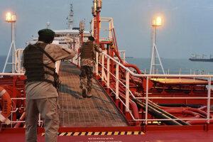 Iránske revolučnú gardy obsadili v júli britský tanker.