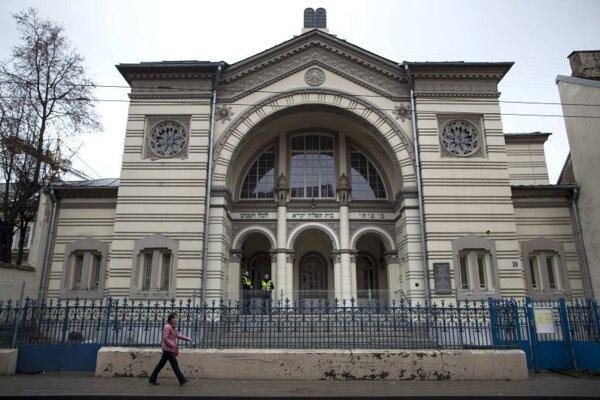 Synagóga vo Vilniuse.
