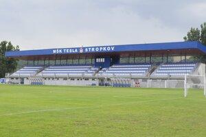 Futbalový štadión MŠK Tesla Stropkov.