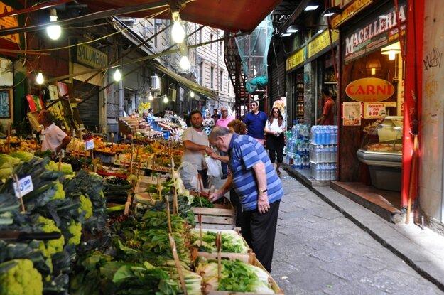Trhovisko La Vucciria, Palermo