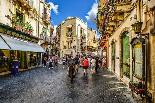 Uličky Taorminy