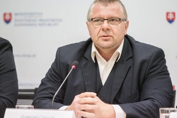 Štátny tajomník ministerstva pôdohospodárstva SR Gabriel Csicsai.