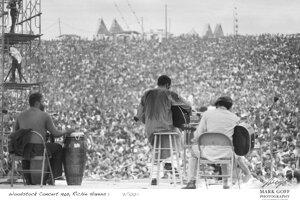 Richie Havens mal pripravené štyri pesničky, napokon bol na pódiu takmer tri hodiny.