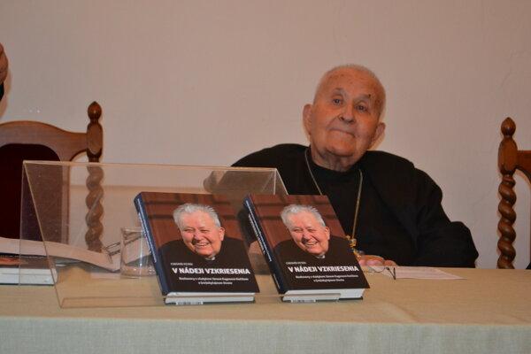 Emeritný biskup Ján Eugen Kočiš.