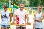 Zľava Natália Dubovcová, Miloš Dubovec a Andrea Štrbová.