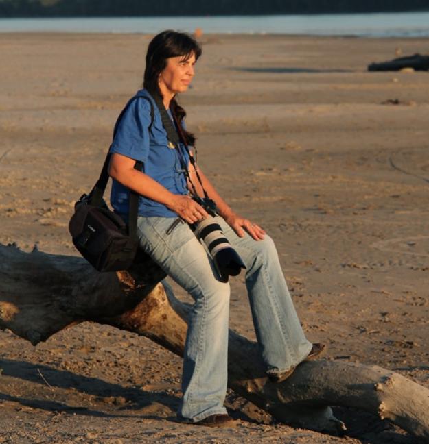 Známa rimavskosobotská fotografka Daniela Rapavá.