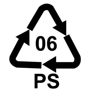 Recklačná značka pre polystyrén