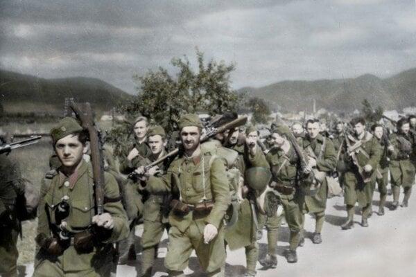 Povstaleckí vojaci
