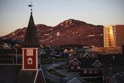 Grónska metropola Nuuk.