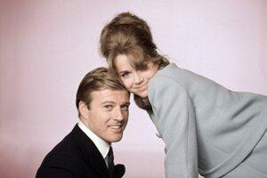 Robert Redford a Jane Fonda, Bosé nohy v parku, 1967.