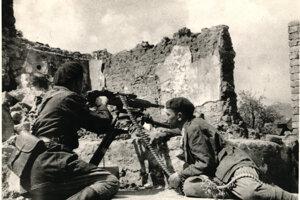 Francúzski partizáni na Strečne.