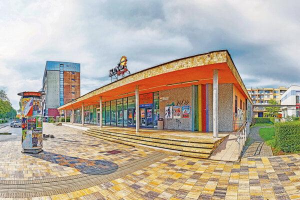 Kino Hviezda v Trnave.