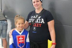 Monika s dcérou Angie.