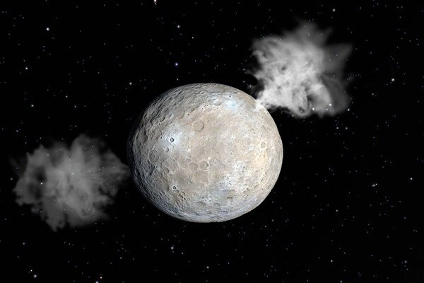 Herschel našiel vodu na Cerese.