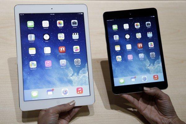 Predstavovanie novej generácie iPadov.