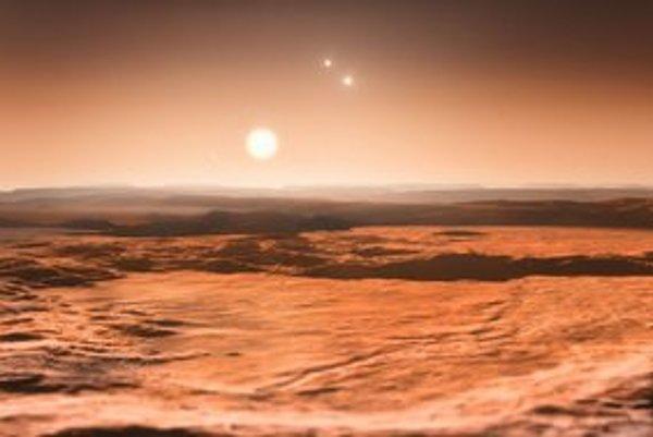 Takto by mohol vyzerať život na exoplanéte Gliese 667Cd.