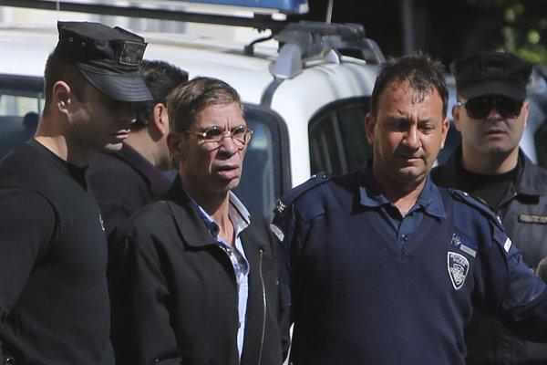 Egyptský únosca Sajf Addín Mustafa.