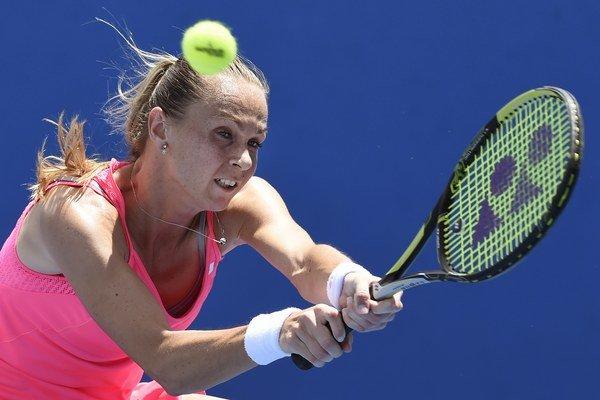 Magdaléna Rybáriková predvádza v Kalifornii výborné výkony.