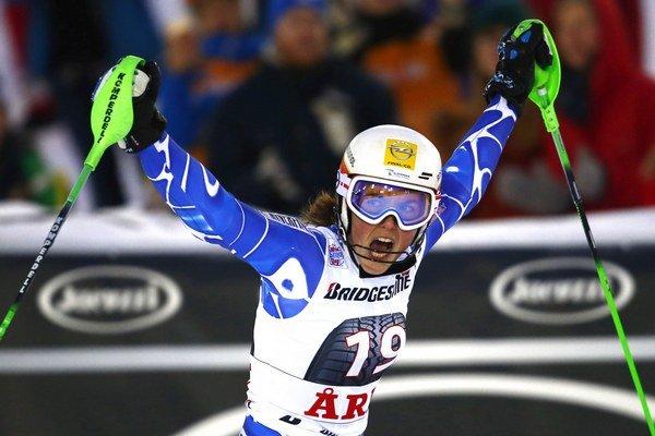 Petra Vlhová už na odmenách v tejto sezóne zarobila 53-tisíc eur.