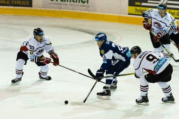 Zo dve-tri možnosti na skórovanie mal aj Dano Rzavský, ani jemu však nebolo súdené dať gól.