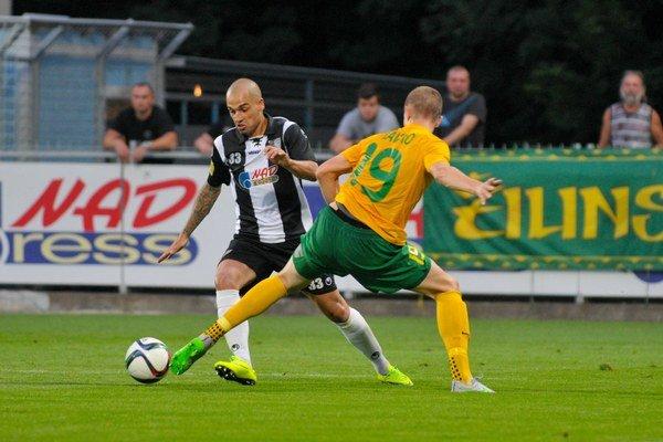 Juraj Piroska (vľavo) naposledy pôsobil v Spartaku Myjava.