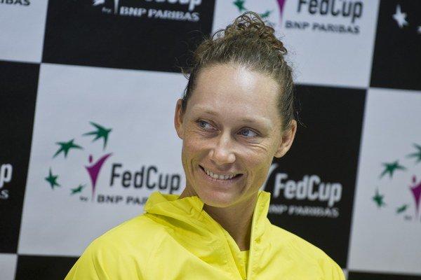 Austrálska tenistka Samantha Stosurová.